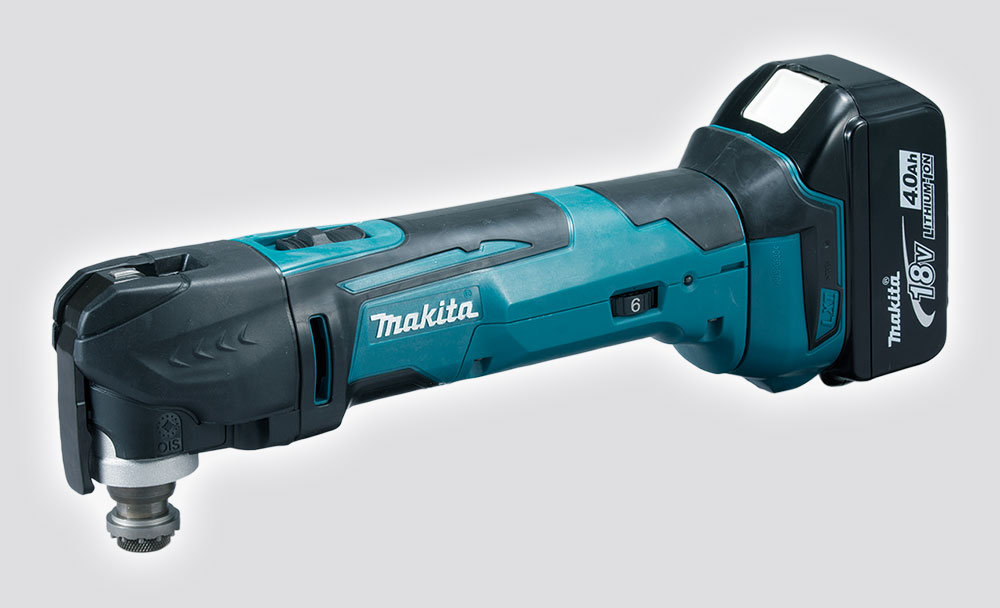 dtm51z makita 18v cordless multi tool power tool shop. Black Bedroom Furniture Sets. Home Design Ideas