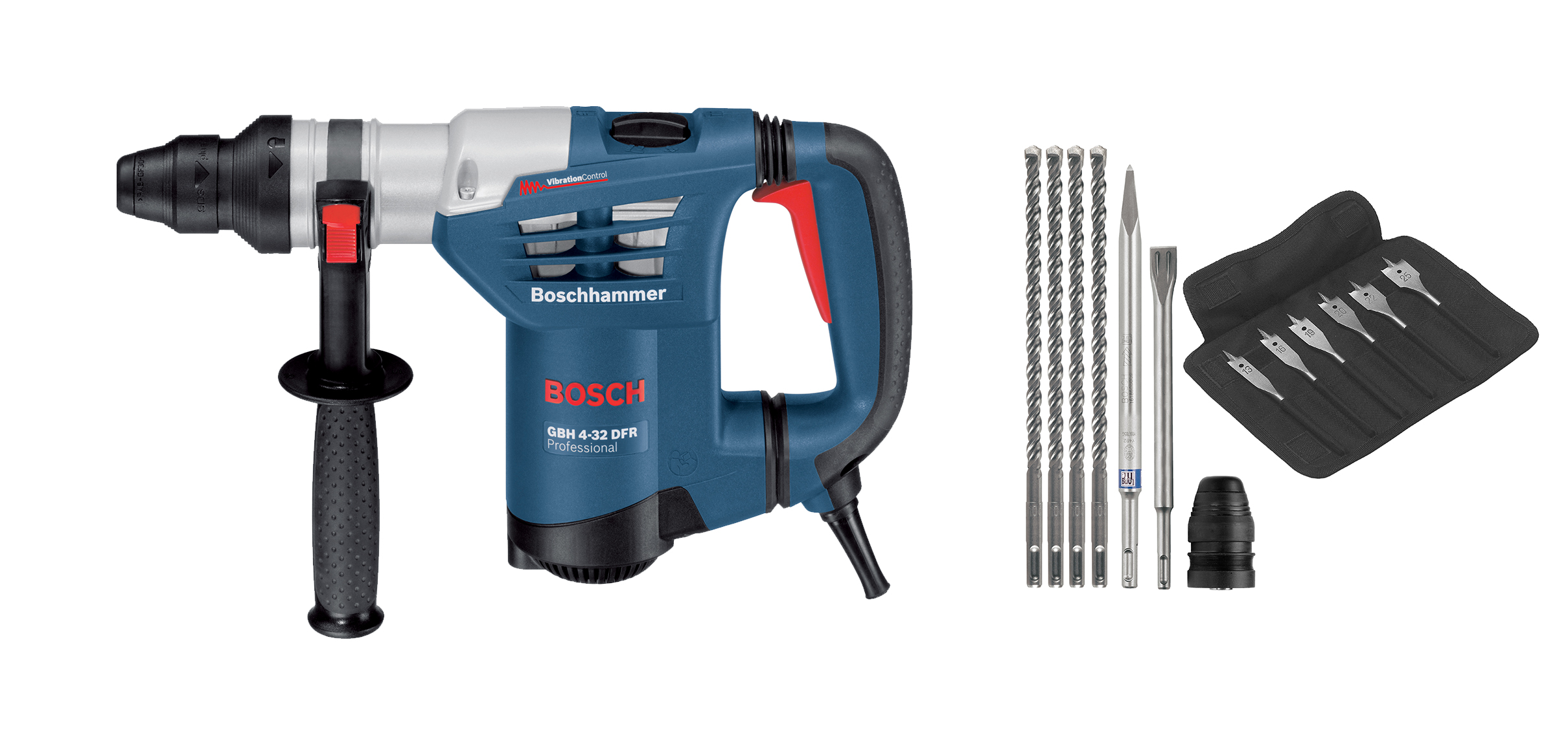 bosch gbh 4 32dfr 900w 3 mode rotary hammer power tool shop. Black Bedroom Furniture Sets. Home Design Ideas