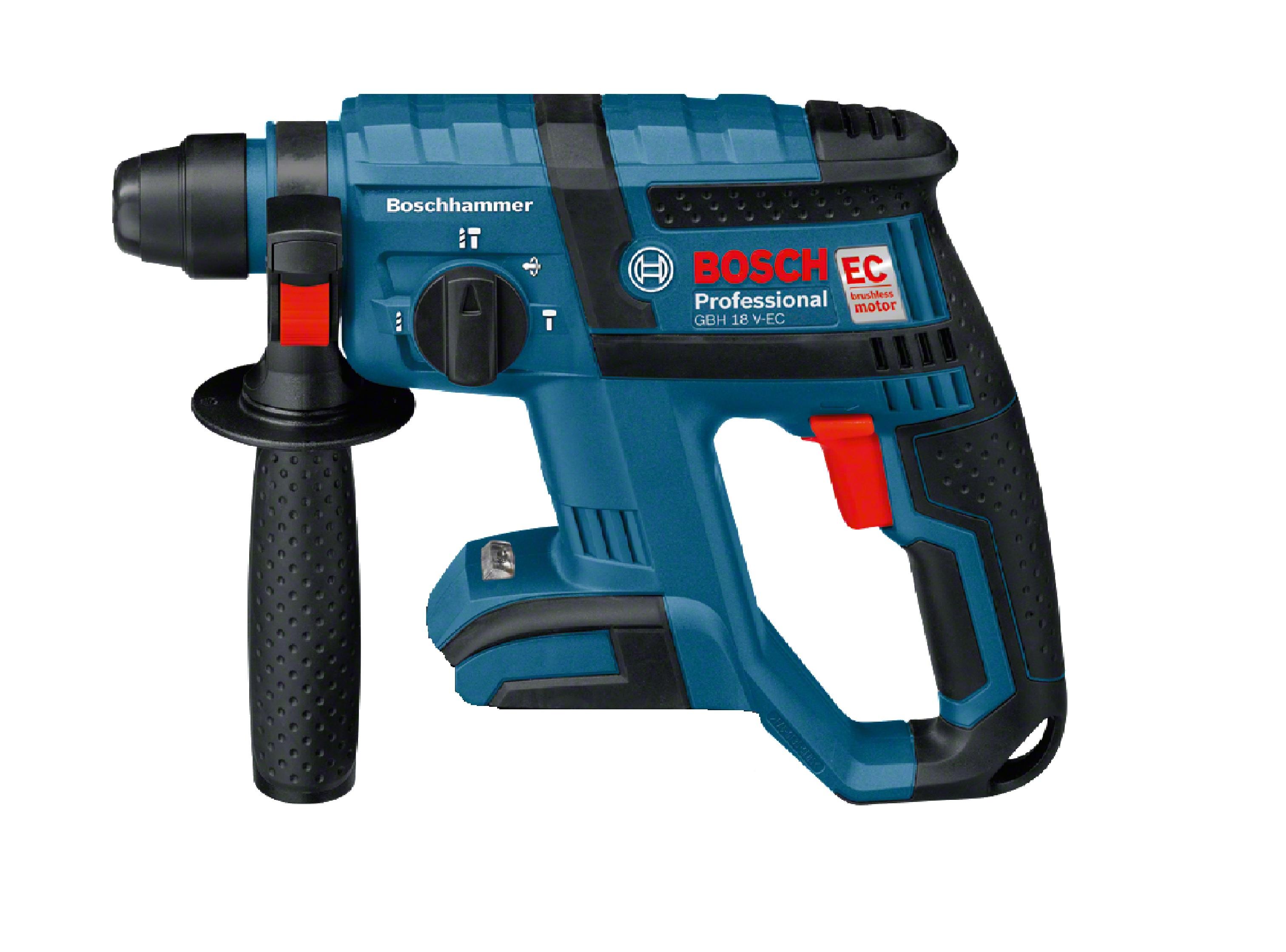 Bosch 18v Gbh Ec Brushless 3 Mode Rotary Hammer Baretool Power Stanley Drill