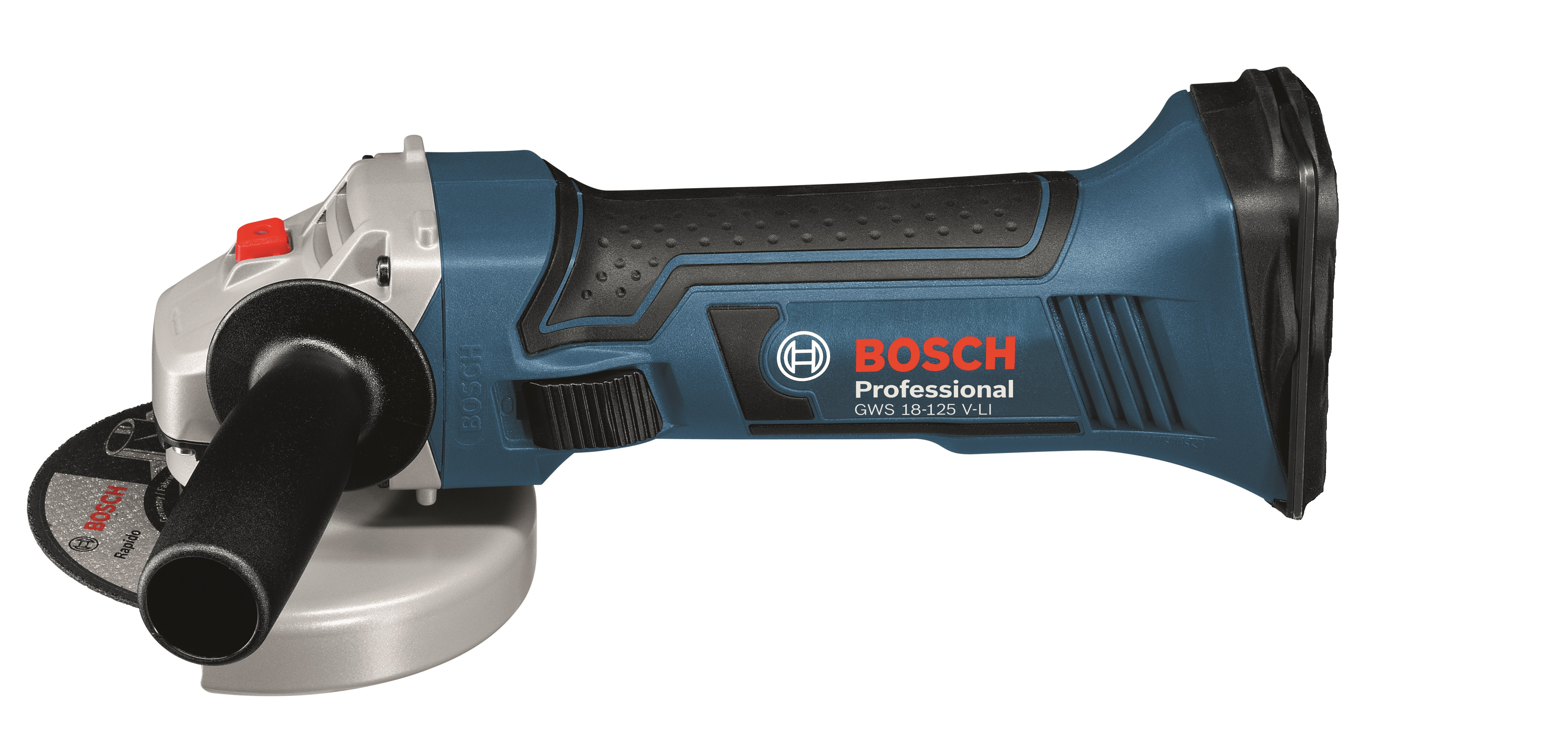 bosch 18v 125mm angle grinder baretool power tool shop. Black Bedroom Furniture Sets. Home Design Ideas