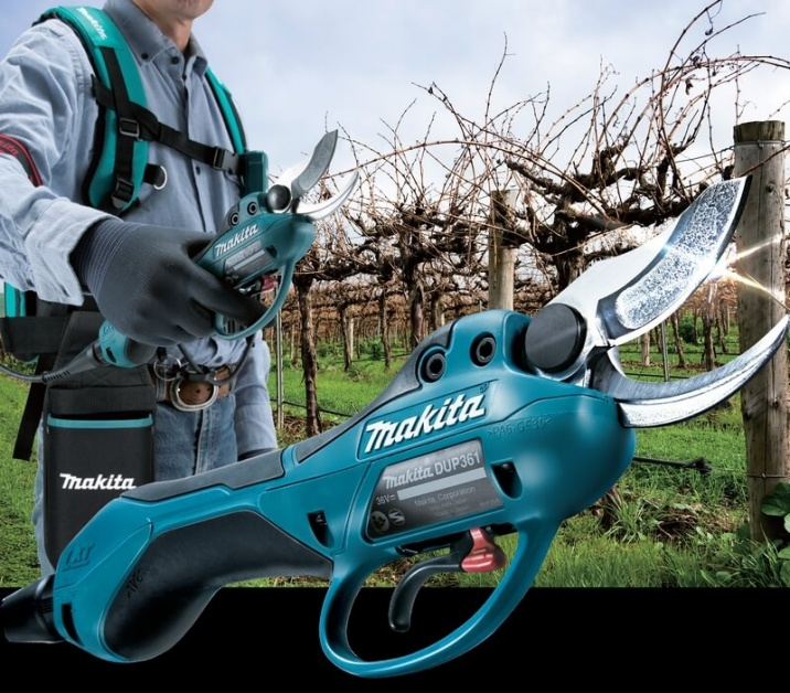Makita dup361z 18v x2 cordless pruning shear power tool shop - Secateur electrique bosch ...