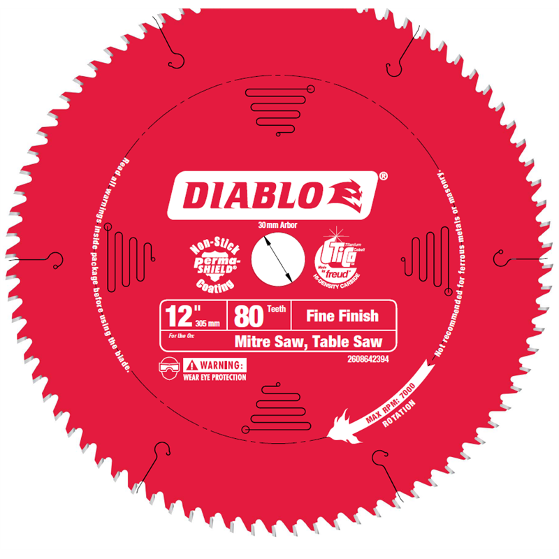 Diablo 12 Inch 305mm Saw Blade Power Tool Shop